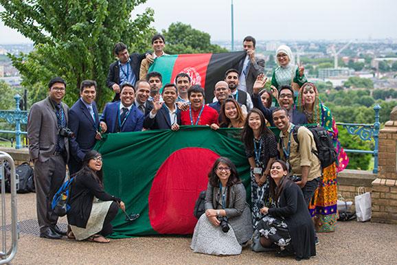 Afghan and Bangladeshi scholars