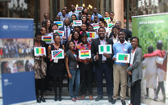 Chevening Scholars from Africa