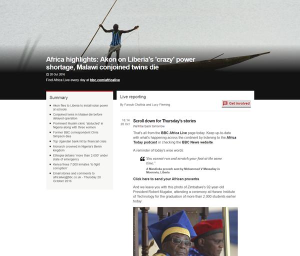 BBC Africa Live image