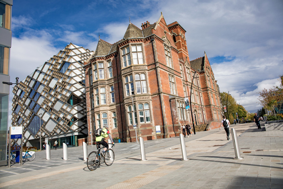 The Diamond Building at the University of Sheffield