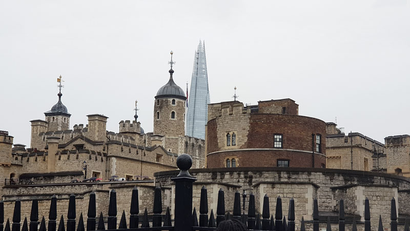 Old and new; London