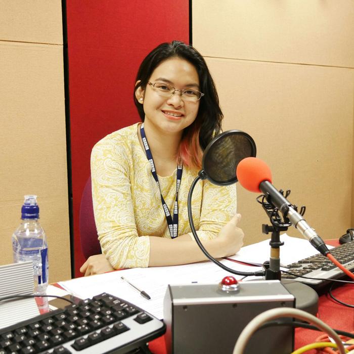 Micaela Papa presents World Hacks on the BBC World Service