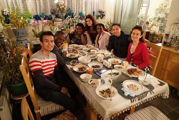MyCheveningJourno dinner party