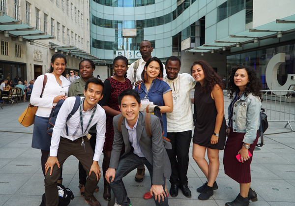 #MyCheveningJourno scholars at the BBC