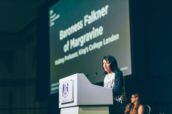 Baroness Falkner of Margravine at Chevening Farewell