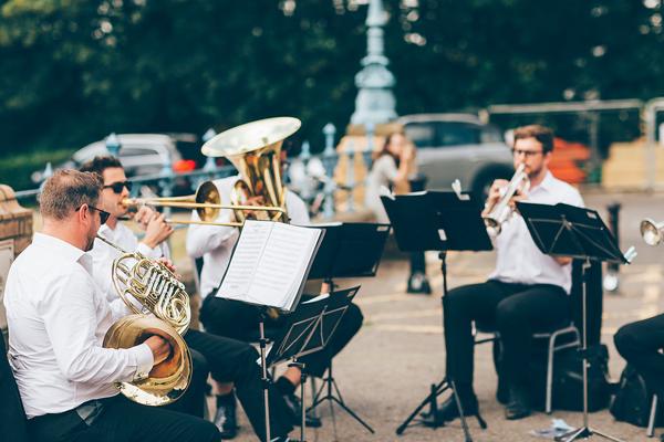 The London Brass Quintet at Chevening Farewell