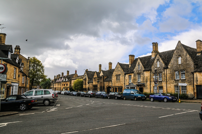 The town of Chipping Campden in the Cotswolds