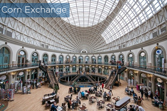 Corn Exchange, Leeds. Image