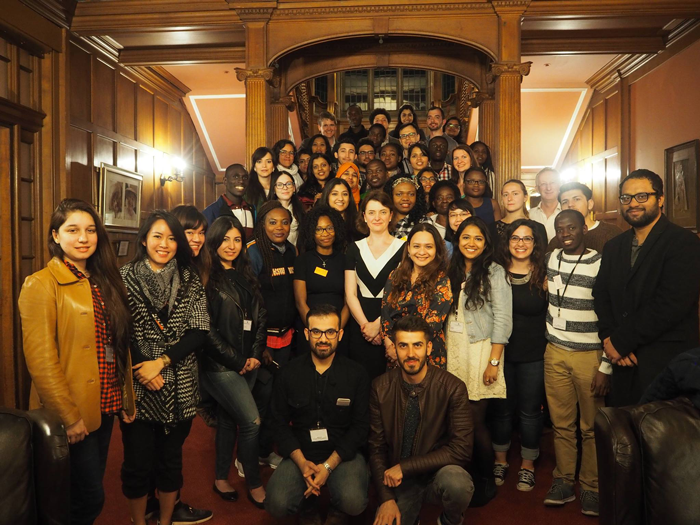 Group of Chevening Scholars at Cumberland Lodge
