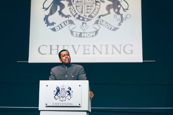Kevin M Isaac, High Commissioner of St Kitts and Nevis to the UK