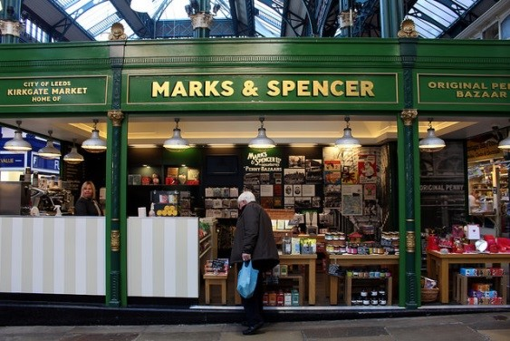 Marks and Spencer in Kirkgate Market