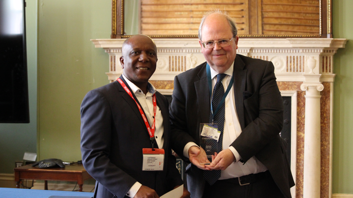 Chevening Scholar and Volunteer of the Year Kudzai Midzi