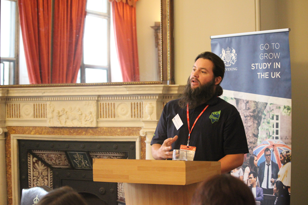Mathieu Pendergast from the Conservation Volunteers