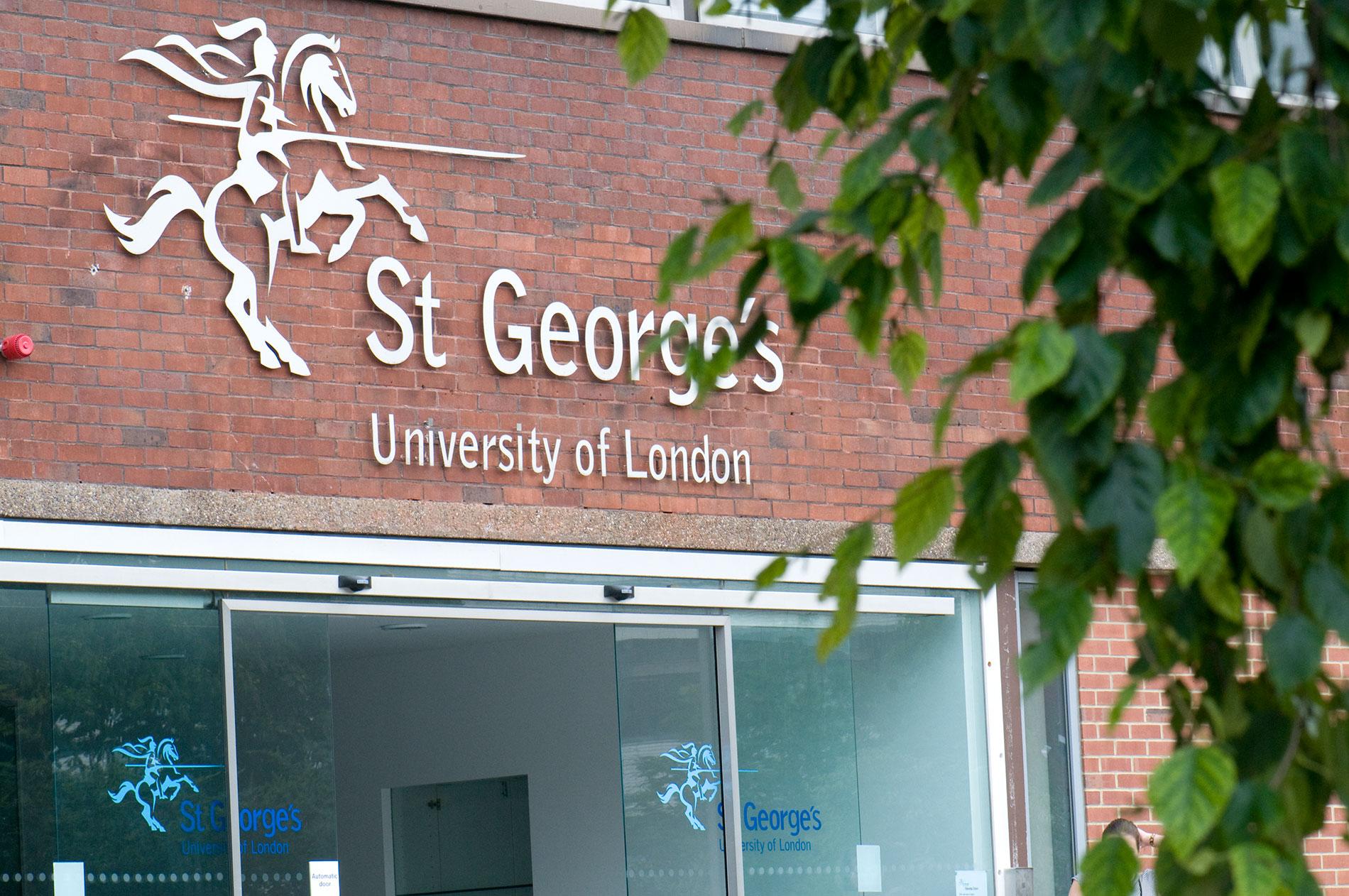 St George's, University of London building