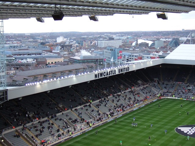 Newcastle United - St James Park by Richard Humphrey | CC 2.0