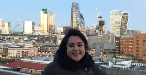 Maria Castillo Vallecillo in London