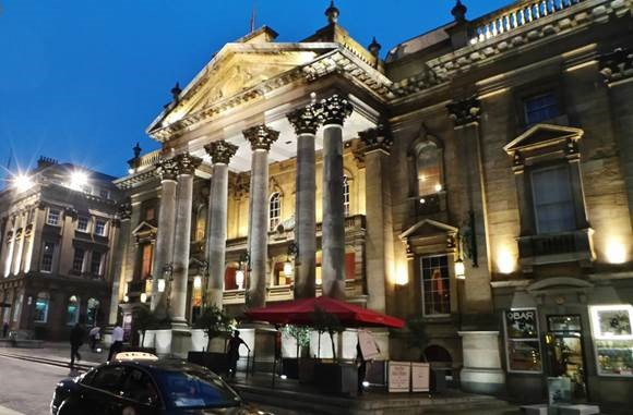 Newcastle by Night - Sept 2014 - The Theatre Royal by Gareth Williams | CC 2.0