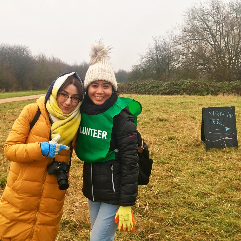 Volunteering through Chevening