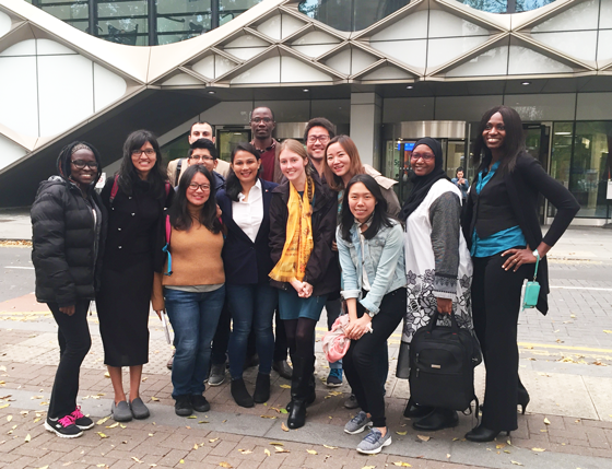 Chevening Scholars at the University of Sheffield