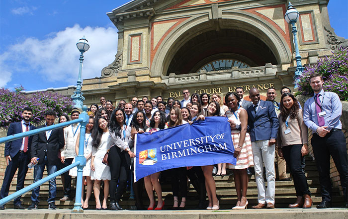 Chevening Scholars from the University of Birmingham