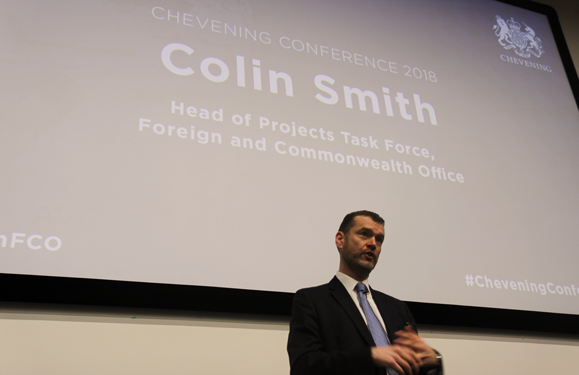 Colin Smith, Head of Projects Task Force at the Foreign and Commonwealth Office