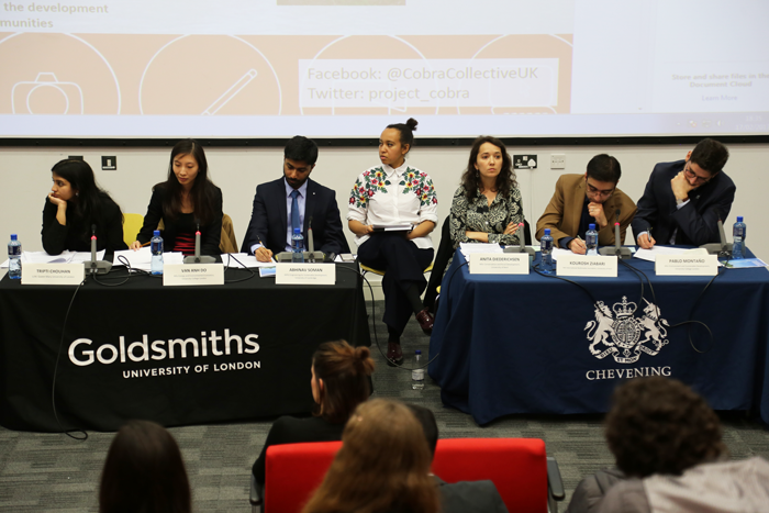 Chevening Debate panellists