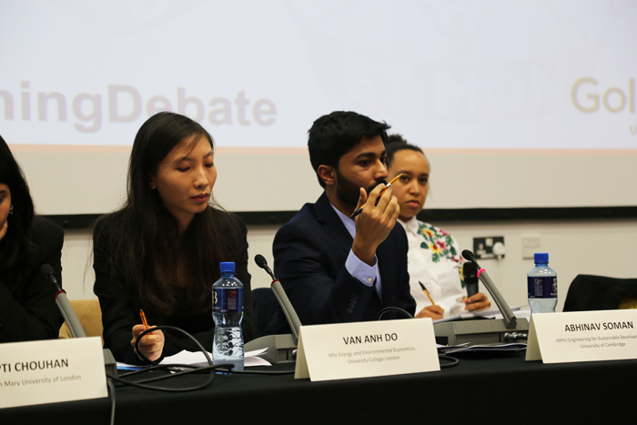 Panellist in the Chevening Debate