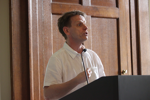 Jonnie Robinson from the British Library