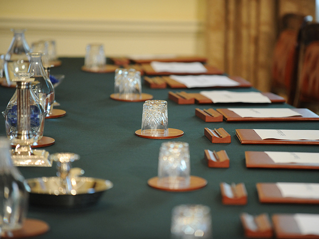 Ready for Cabinet - Crown Copyright image