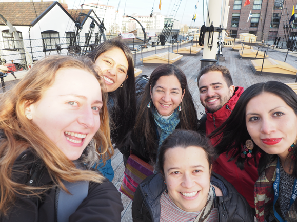 Scholars on board the SS Great Britain