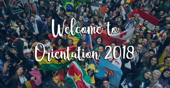 Welcome to Orientation 2018 blog