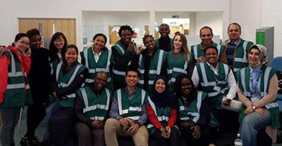 Volunteering at Oxfam