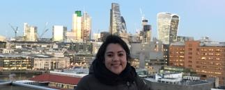 Maria Castillo Vallecillo in London
